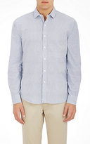 Blue Shirt Shop BLUE SHIRT SHOP MEN'S 73RD & PARK STRIPED COTTON SHIRT