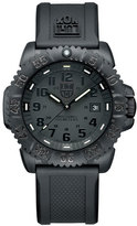 Luminox 44mm Navy SEAL 3050 Series Colormark Watch, Black