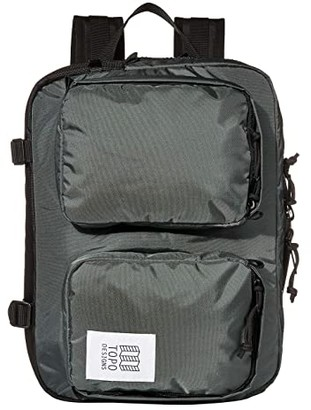Topo Designs Global Briefcase (Olive) Bags