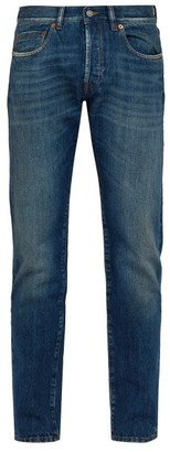 Privee Salle Lewitt Slim-fit Jeans - Mens - Dark Blue