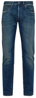 Privee Salle Salle Lewitt Slim-fit Jeans - Mens - Dark Blue