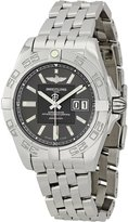 Breitling Men's A49350L2/F549 Galactic 41 Grey Dial Watch