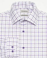 Le Château Check Twill Euro Fit Shirt