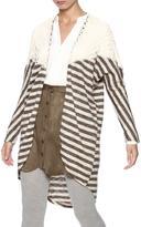Umgee USA Stripe Crochet Cardigan