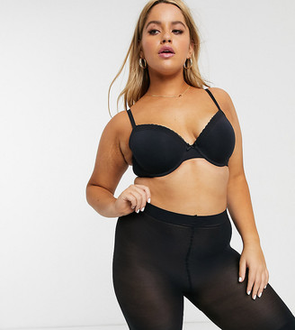 Pretty Polly curve sheer anti chaffing cooling short in black