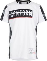 River Island Boys white conform print T-shirt