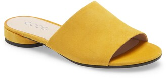 Ecco Flat II Slide Sandal