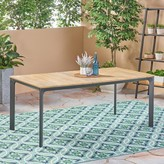 Bronx Nydia Wooden Dining Table Ivy