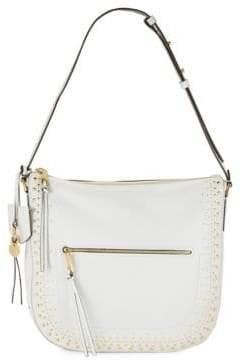 Cole Haan Marli Stud Leather Hobo Bag