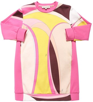 Emilio Pucci Elisse Printed Cotton Sweatshirt Dress
