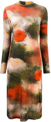 Henrik Vibskov Floral Colour-Block Dress