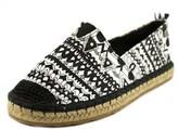 Sakroots Eton Open Toe Canvas Slides Sandal.