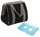 Fit & Fresh Big Phil Insulated Lunch Bag with Reusable Ice Pack - Black