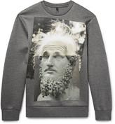 Neil Barrett Printed Scuba-Jersey Sweatshirt