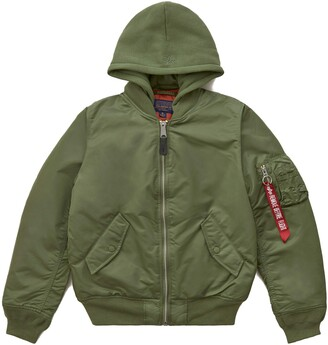 Alpha Industries Women's MA-1 Natus Flight Jacket (XL