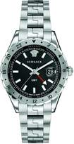 Versace Men's 'HELLENYIUM Gmt' Swiss Quartz Stainless Steel Casual Watch (Model: V11020015)