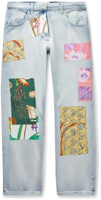 Loewe + Paula's Ibiza Appliqued Denim Jeans