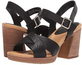 Kork-Ease Ease Kristjana (Black Full Grain Leather) Women's Dress Sandals