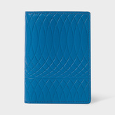 Paul Smith No.9 - Men's Blue Leather Credit Card Wallet With Multi-Coloured Card Slots