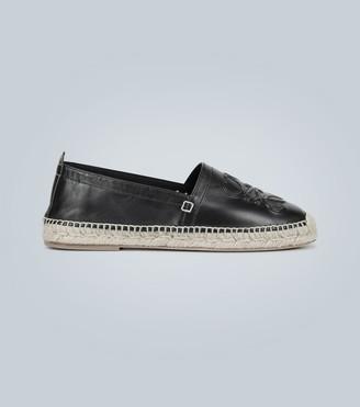 Loewe Anagram leather espadrilles