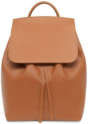 Mansur Gavriel Large Calf Backpack - Saddle
