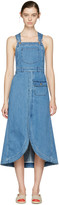 See by Chloe Indigo Denim Overall Dress
