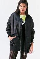 Silence & Noise Silence + Noise Venice Oversized Bomber Jacket