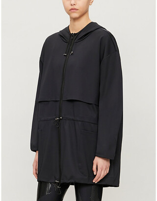 ULTRACOR Hooded stretch-jersey jacket