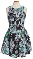 Milly Minis Girl's Floral Print Sleeveless Dress