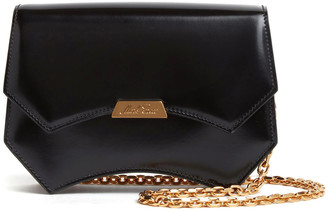 Mark Cross Madeline Evening Patent Leather Clutch