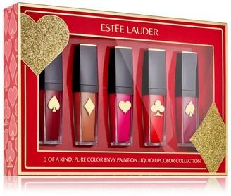 Estee Lauder Pure Color Envy Paint On Liquid Lipcolor Collection