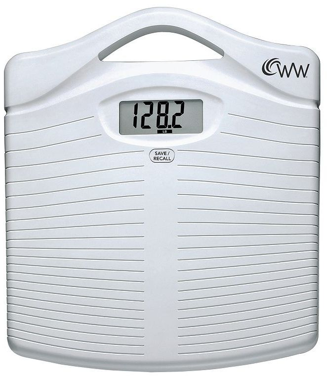Weight Watchers portable precision electronic scale