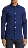 BOSS Ronni Diamond Texture Slim Fit Button-Down Shirt