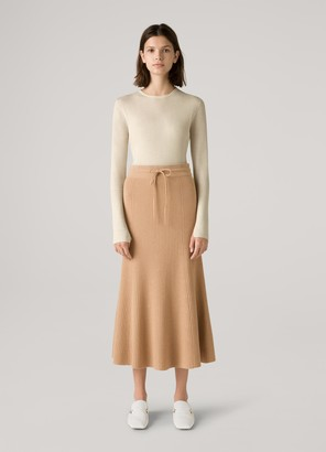 St. John Merino Wool and Cashmere Skirt