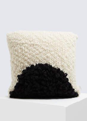 Minna Moon Shag Pillow