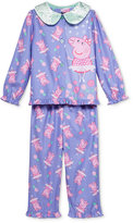 Komar Kids 2-Pc. Peppa Pig Pajama Set, Toddler Girls (2T-5T)