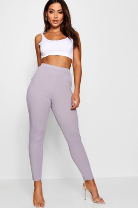 boohoo Basic Crepe Super Stretch Skinny Pants