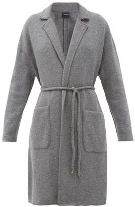 MAX MARA LEISURE Burano Coat - Dark Grey