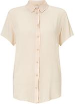 Samsoe & Samsoe Maj Short Sleeve Shirt, Pink Tint