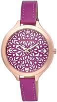 Laura Ashley Women's LA31023PK Analog Display Quartz Pink Watch