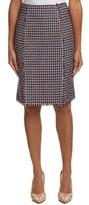 Carolina Herrera Linen-blend Skirt.