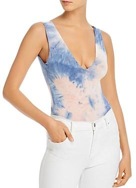 Fore Tie-Dye Thong Bodysuit