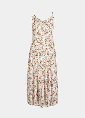 Essentiel Antwerp Venice Strappy Floral Print Dress - UK 8