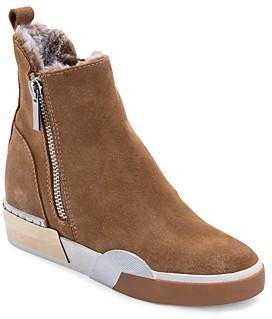 Dolce Vita Women's Zelma Zip High Top Sneaker Booties