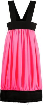 Comme des Garcons Colour-Block Midi Dress
