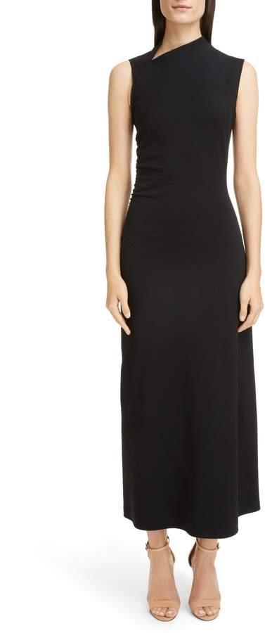 Victoria Beckham Gathered Side Gown