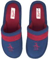 Original Penguin Mens Relax Slippers Navy/Pom