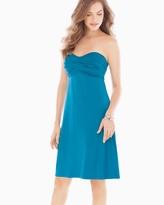Soma Intimates Strapless Twist Short Dress Peacock