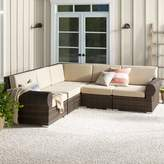 Birch Lane Birch LaneTM Heritage Brookhaven Patio Sectional with Cushions Heritage