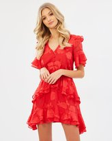 Lolita Textured Frill Dress
